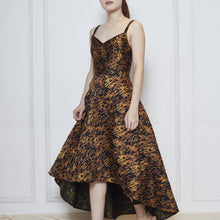 Load image into Gallery viewer, Paola Leopard High Low Dress