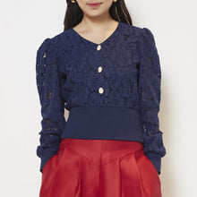 Load image into Gallery viewer, Long Sleeve Lace Top