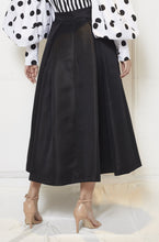 Load image into Gallery viewer, Taffeta Flare Skirt
