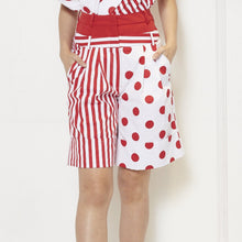 Load image into Gallery viewer, Stripe Polka Short Pants