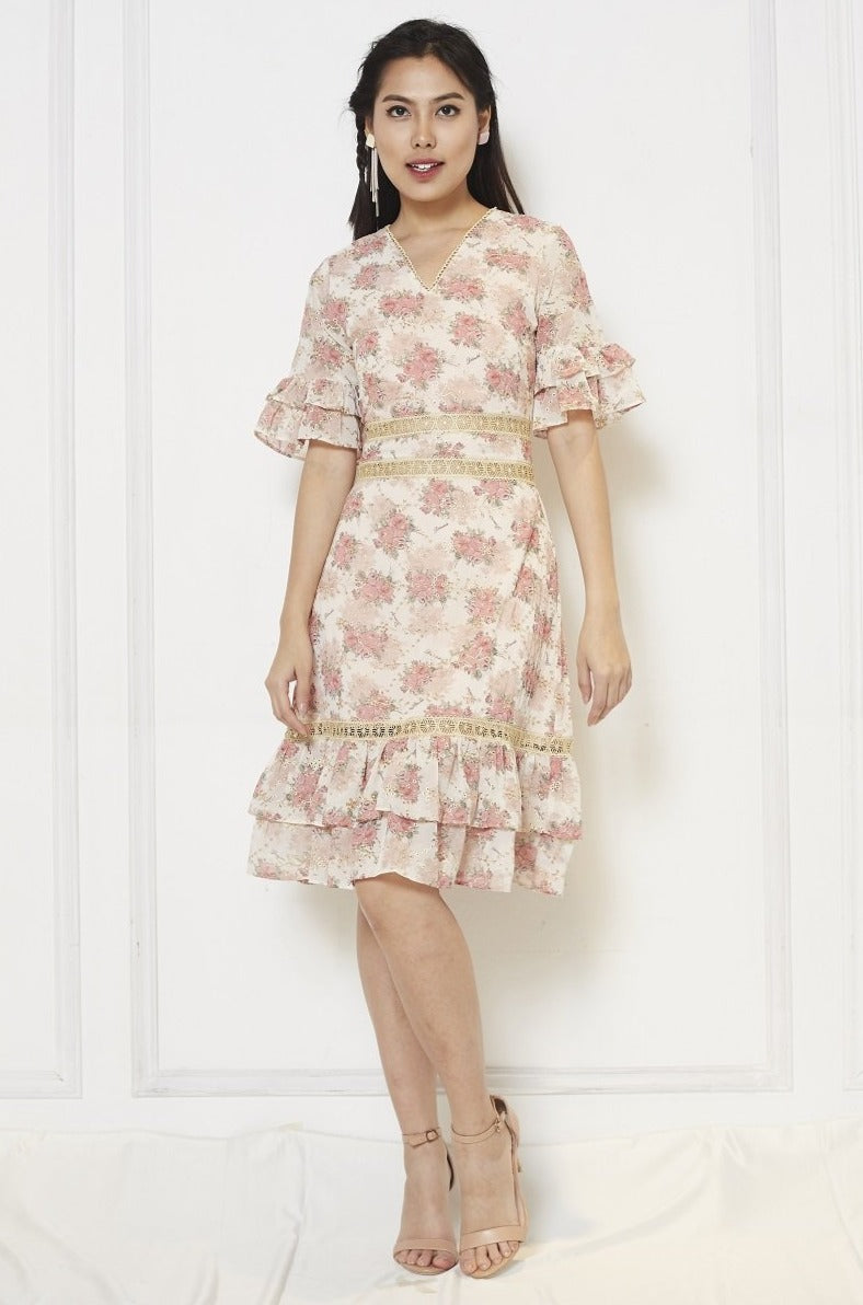 Chiffon Printed Dress