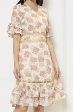 Load image into Gallery viewer, Chiffon Printed Dress