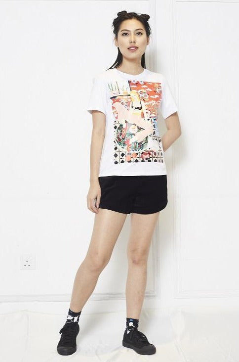 'Kitty' Sasha Tees