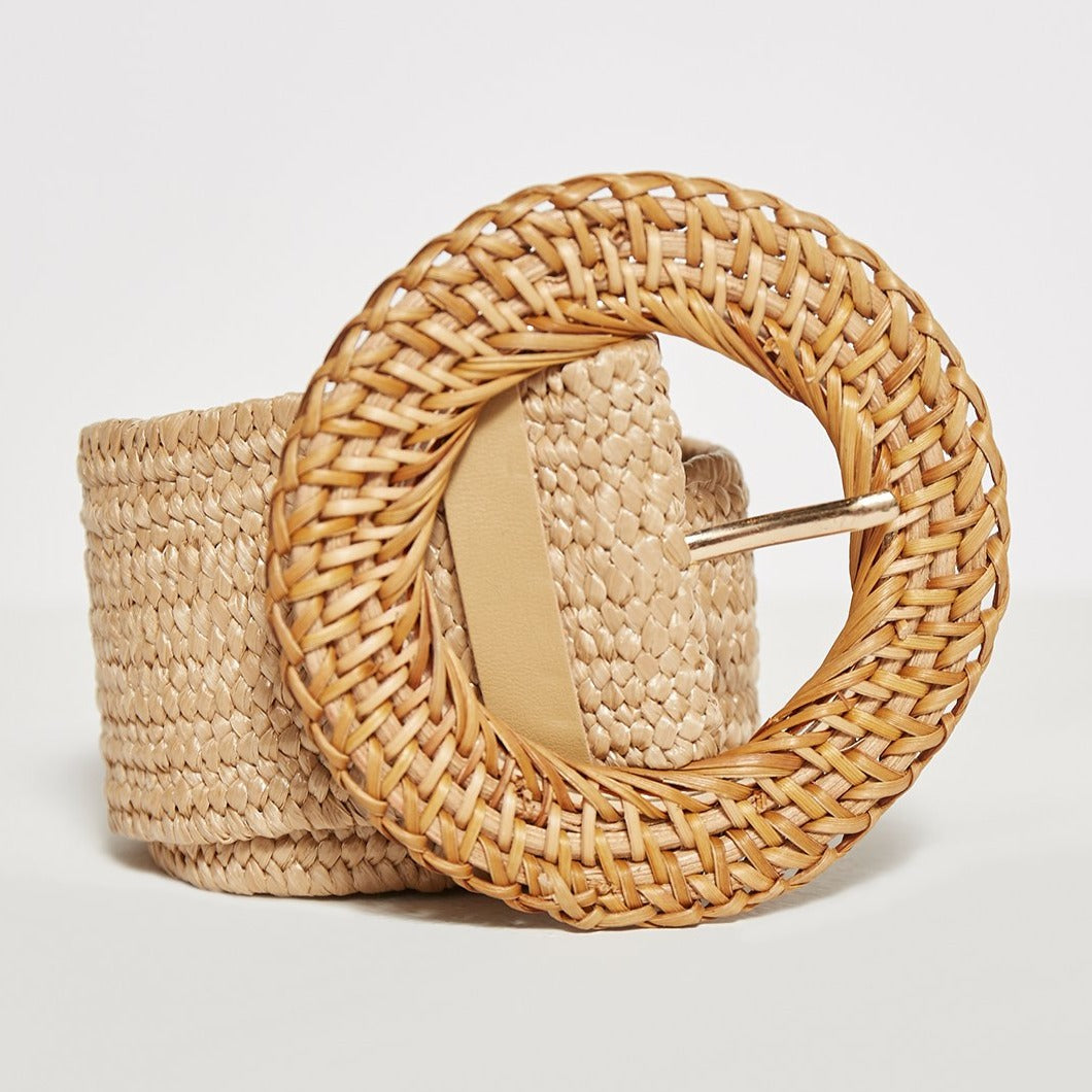 Loom Weaver belt in Sand