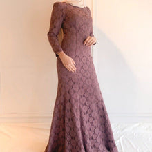 Load image into Gallery viewer, Lace Long Dress