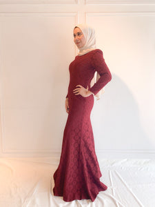 Lace Long Dress