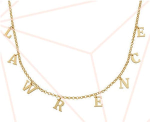 Say my name.. Personalized Choker