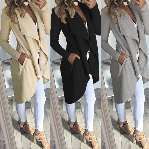 Outerwear Chic long sleeve Coat