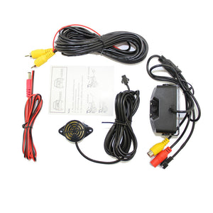 Night Vision camera monitor 2LED Car Rear View Camera with Radar Parking Sensor