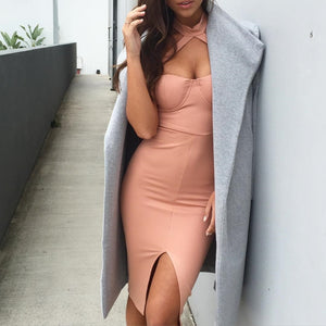 Sleeveless Sexy  Bodycon Dress