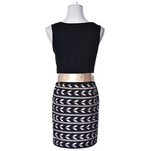Womens Sexy Printing Dress Ladies Bodycon Cocktail Party Evening Dress