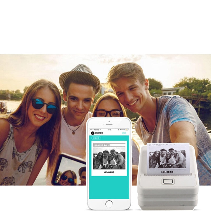 Phone Photo Printer any language  work with WiFi Wireless