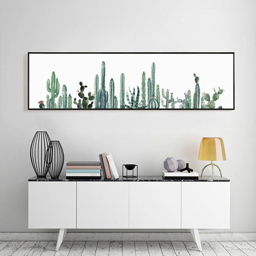 Cactus Canvas Print, watercolor