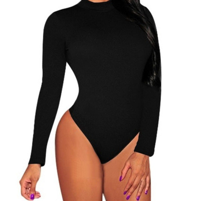 Long Sleeve Bodycon  Bodysuits