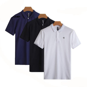 3 pack  Polo Shirt Men top quality 100% cotton