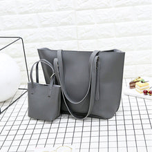 4Pcs Women Pattern Leather Shoulder Bag+Crossbody Bag+Handbag+Wallet