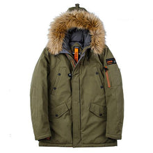 Winter Warm Mens  Padded  Coat