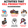 6 Activities that Kill Productivity