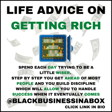 Life Advice on Getting Rich