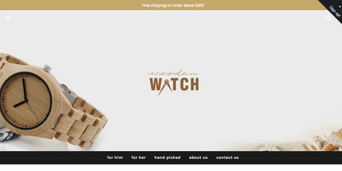 Wooden Watch Business