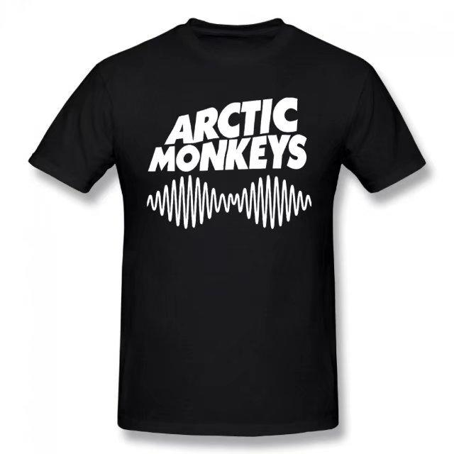 Arctic Monkeys Tshirt New Album Sky Summer Basic Casual Short Cotton T-Shirt(Regular and Big and Tall Sizes Included)