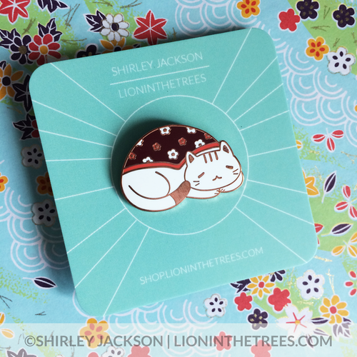Honorary Cat Enamel Pin