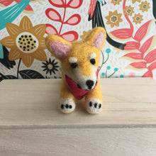 Lil Corgi - Needle-Felted Friend