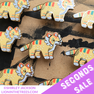 SECONDS SALE - Miniature Taekho Enamel Pin