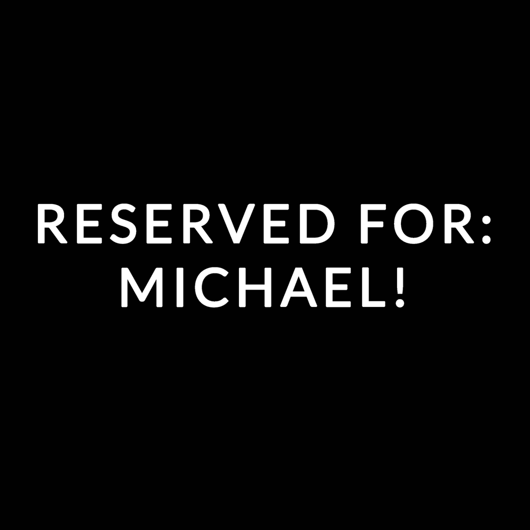 RESERVED FOR: MICHAEL