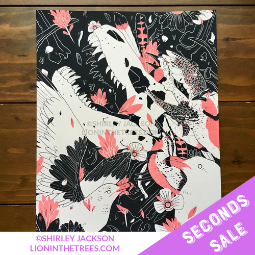 SECONDS SALE ANCESTOR - Limited Edition Screen Print