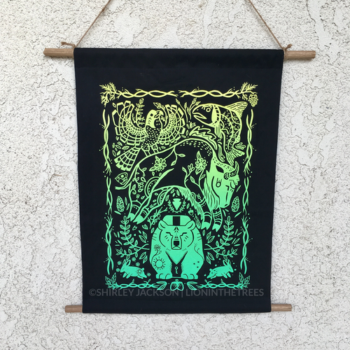Harmony Screen-Print Tapestry
