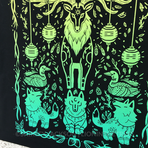 Balance Screen-Print Tapestry