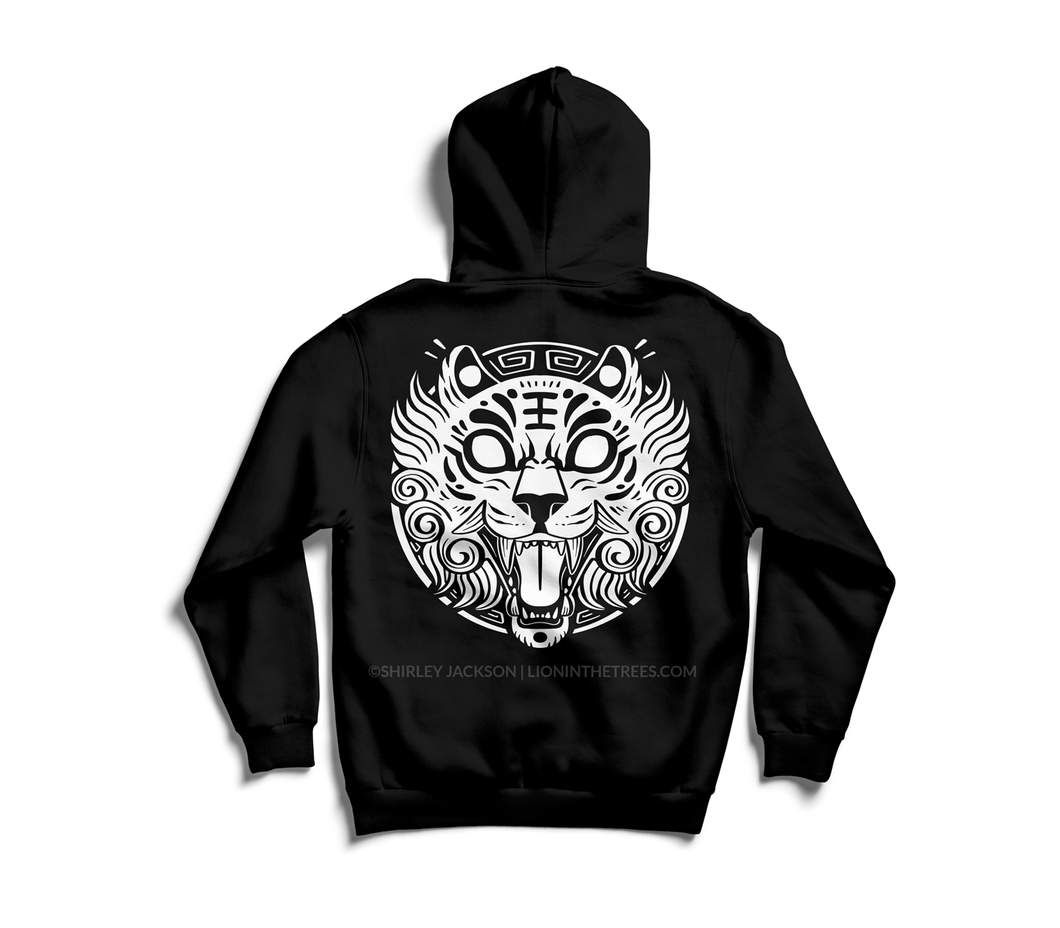 COURAGE // Tiger PULLOVER Hoodie
