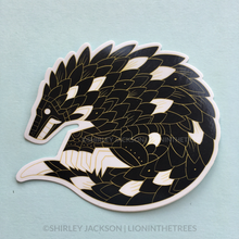 Pangolin Vinyl Sticker (ANCIENT BEAST VERSION)