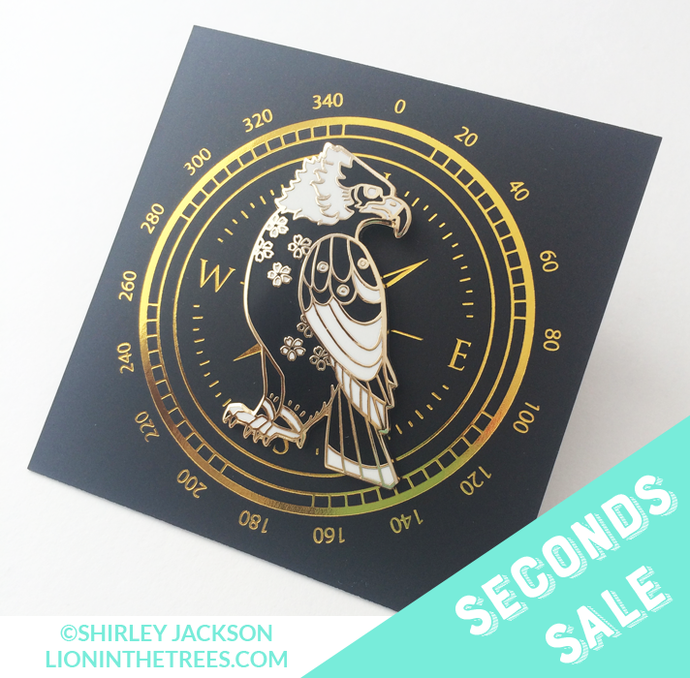 Seconds Sale - Messenger Enamel Pin