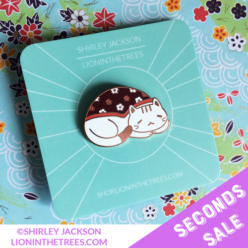 Seconds Sale Honorary Cat Enamel Pin