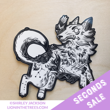 SECONDS SALE Year of the Coyote Sticker
