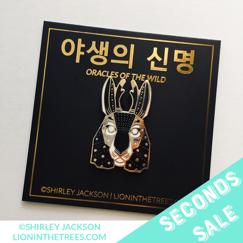 SECONDS SALE - Oracles of the Wild - The Lucky Enamel Pin