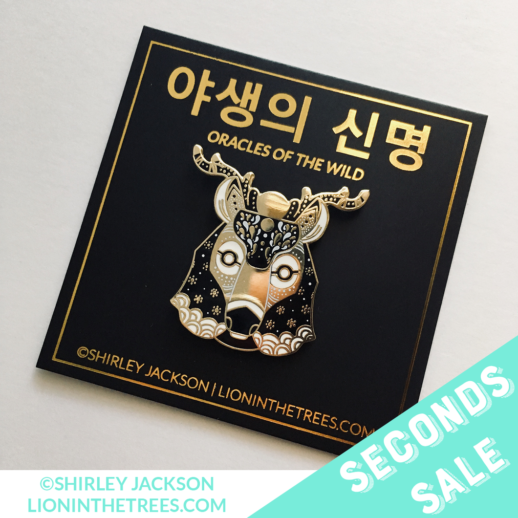 SECONDS SALE - Oracles of the Wild - The Meek Enamel Pin