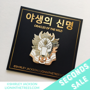 SECONDS SALE - Oracles of the Wild - The Wind Enamel Pin