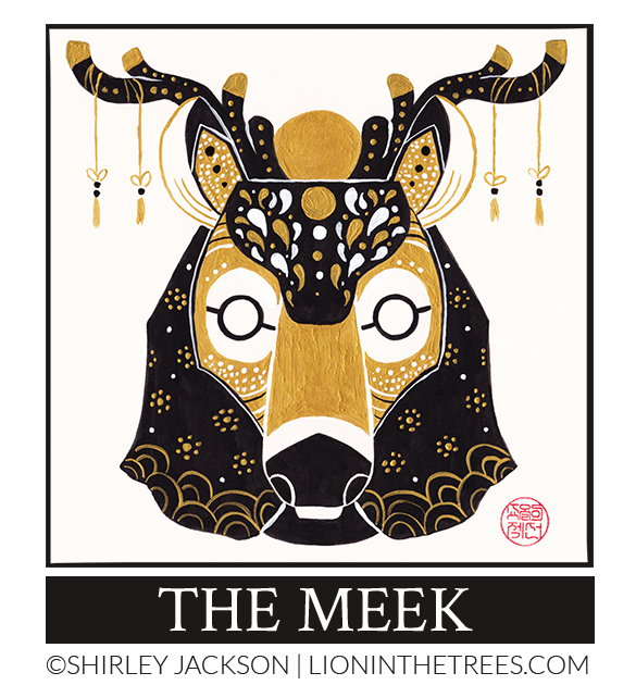 The Meek - 2017 Inktober Piece