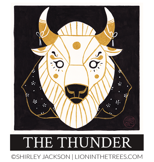 The Thunder - 2017 Inktober Piece