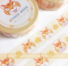 #TIGER MOOD Washi Tape