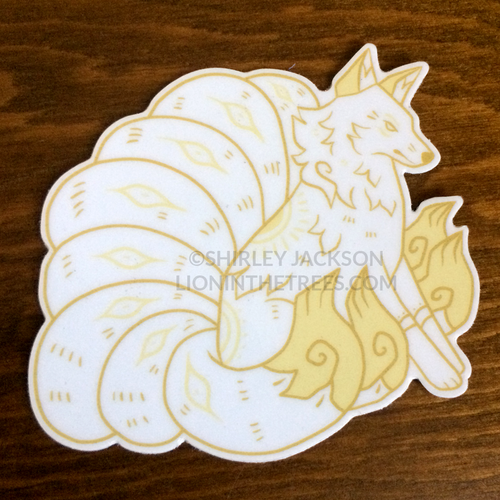 Kumiho White Sticker