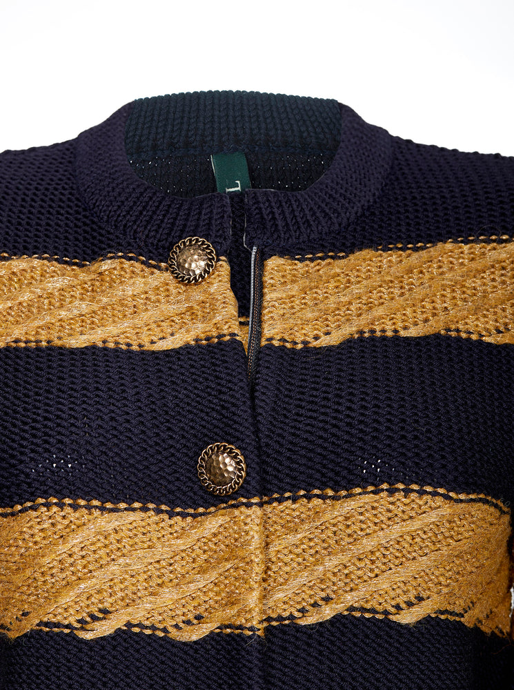 BLUE GOLDIE KNIT