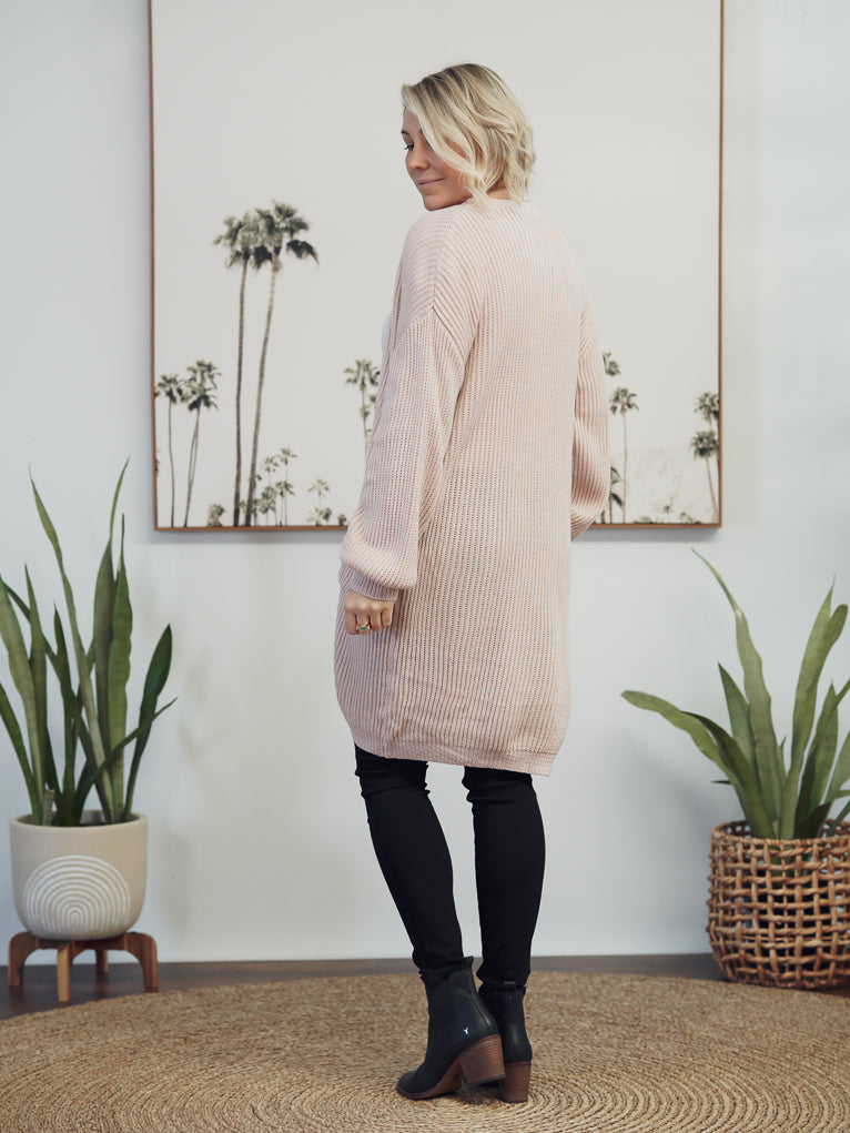 Piper Knit - Soft Pink