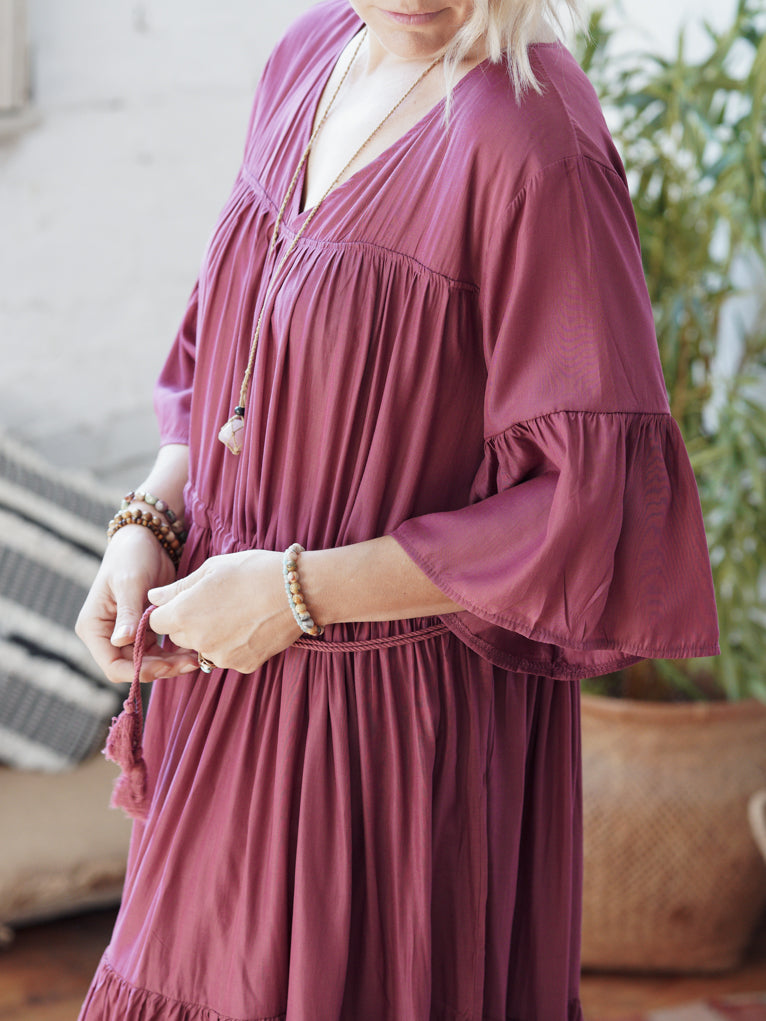 Keya Maxi - Dusty Rose