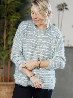 Bailey Knit - Blue