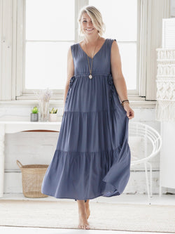 Lua Maxi - Steel Blue