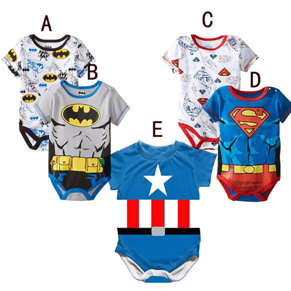 Bodysuits cartoon for baby boy and girl